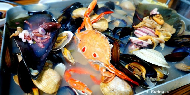 【釜山*札嘎其站】驚人份量 ❤ 海物天地.兩個人也能享受滿滿的海鮮大平台!!
