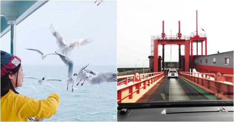 九州自駕|有明渡輪 佐賀 / 長崎多比良港 – 熊本 長洲港 大推附屬行程餵海鷗♥♥♥
