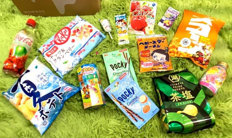 日本零食宅配 |  7月份開箱報告!! WOWBOX 日本主題零食驚喜箱 日本直接空運到家~