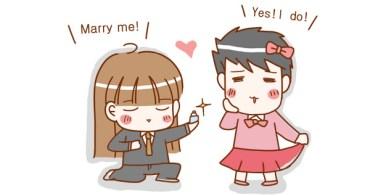 ★親愛的! 我跟我老公求婚了!!