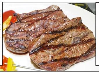新北市中和 小惡魔炭烤牛排 平民價錢給你安格斯Choice級原塊牛排