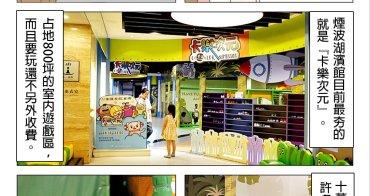 新竹親子飯店 推薦 煙波飯店 湖濱館  卡樂次元星球樂園 800坪室內遊戲室 讓小孩玩到瘋啦!
