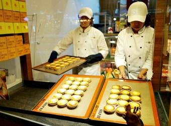 台北 士林 美食 推薦 久久津 乳酪菓子手造所 北海道爆漿乳酪塔 台中十大伴手禮