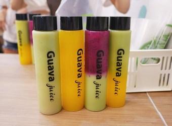 芭樂芭 淡水 超夯的 彩虹果汁 消暑又好喝的冰飲品!