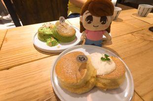 台北厚鬆餅推薦、東區鬆餅│KoKu café 穀珈琲 厚鬆餅舒芙蕾 極像去日本吃的鬆餅味