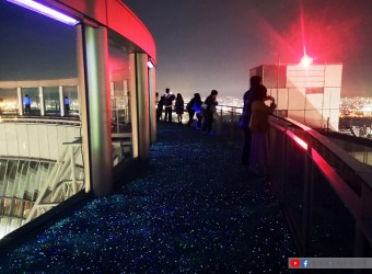 大阪景點/ 梅田藍天大廈 360度露天展望台 超美的梅田夜景