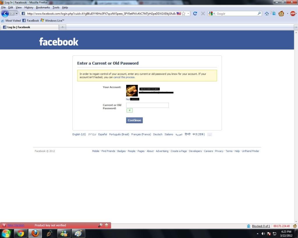 ما هى الاجراءات لاسترداد حساب الفيس بوك المسروق مجتمع رجيم
