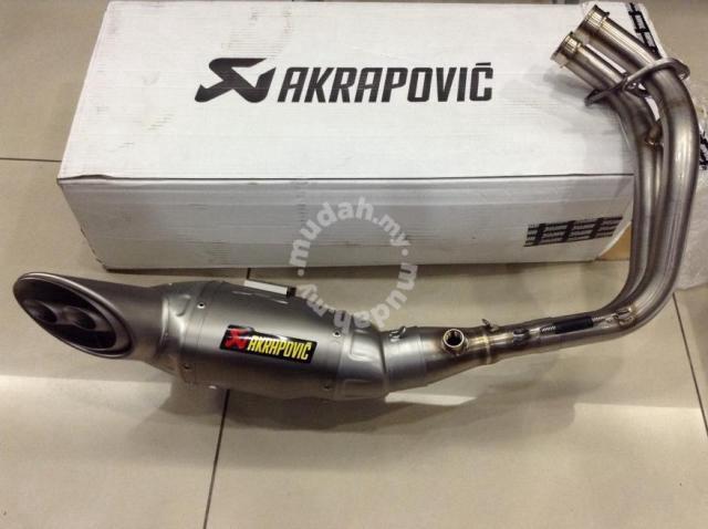 akrapovic racing line yamaha mt 07 mt07 motorcycle accessories parts for sale in shah alam selangor mudah my