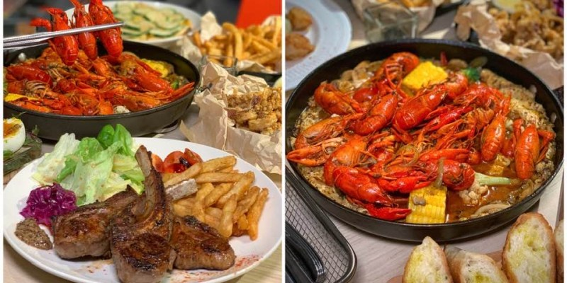 台南-DotchBistro兜齊餐酒館 麻辣小龍蝦有夠銷魂|台南餐酒館|