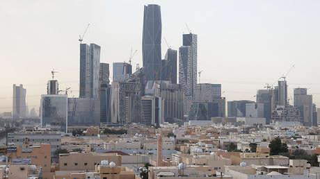 King Abdullah financial district, north of Riyadh, Saudi Arabia, on March 1, 2017.