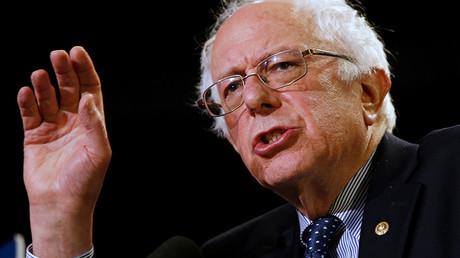 US Democratic presidential candidate Bernie Sanders © Jonathan Ernst