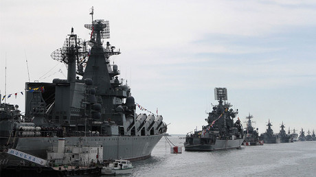 Russian Navy vessels © Reuters