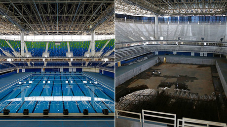 Deserted Rio 2016 venues decaying just 6 months after Olympics (BEFORE & AFTER PHOTOS)