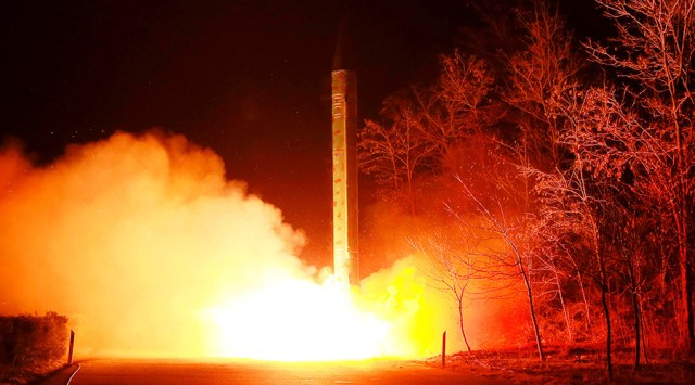 Pyongyang fires 'unidentified projectile' – South Korea's military