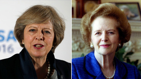 'Milk snatcher' returns? May accused of channeling Thatcher with plan to scrap free school lunches