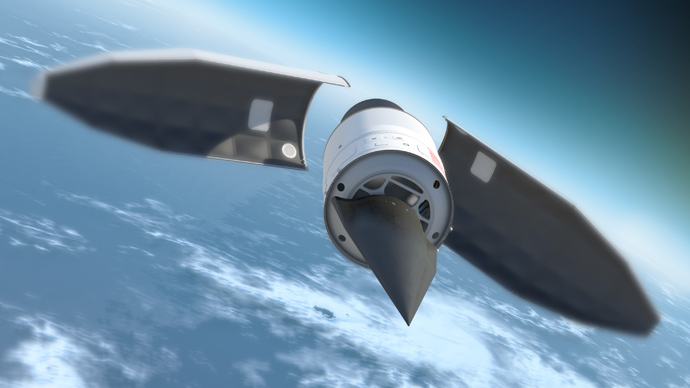 Falcon Hypersonic Technology Vehicle 2 (HTV-2), (AFP Photo / Defense Advanced Research Projects Agency DARPA)