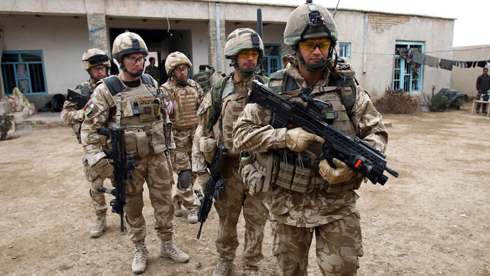 Number Of UK Afghan War Veterans Seeking Mental Help