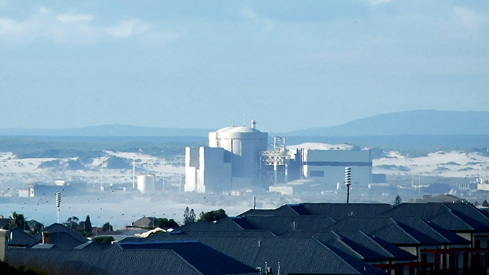 A general view of Koeberg Nuclear Power Station (AFP Photo / Rodger Bosch)