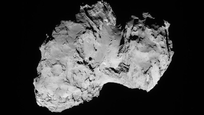 Comet Churyumov-Gerasimenko (Image from nasa.gov)