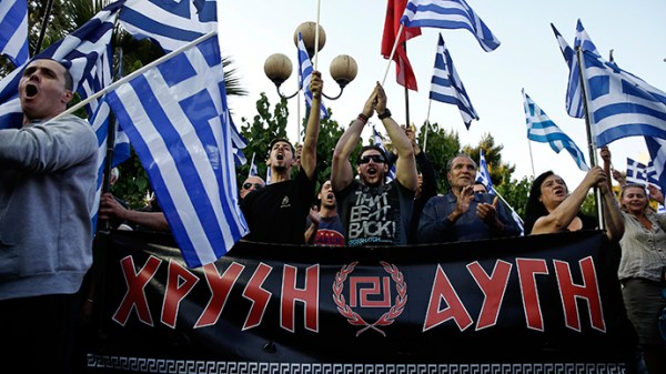 Far-right Golden Dawn party takes third place in Greece ...