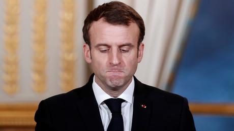 Emmanuel Macron le 17 décembre 2018 à l'Elysée