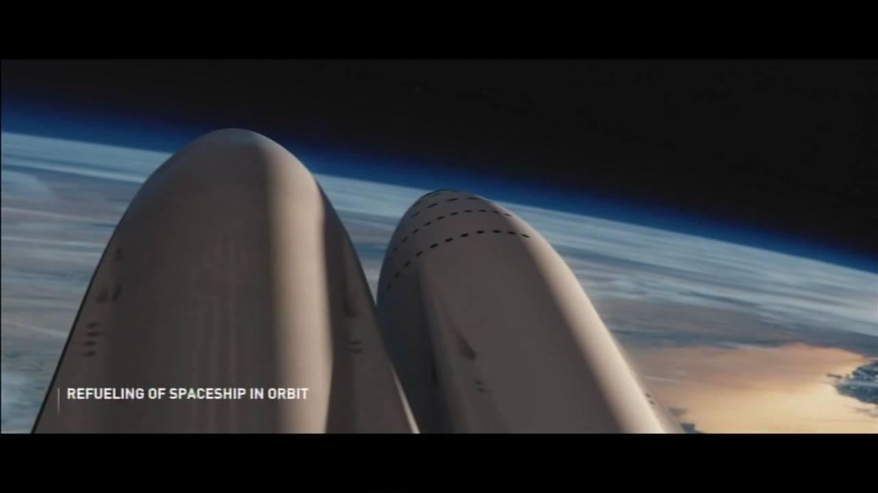 Desde 2024 SpaceX llevaría unas 100 personas a Marte en un viaje de 3 meses