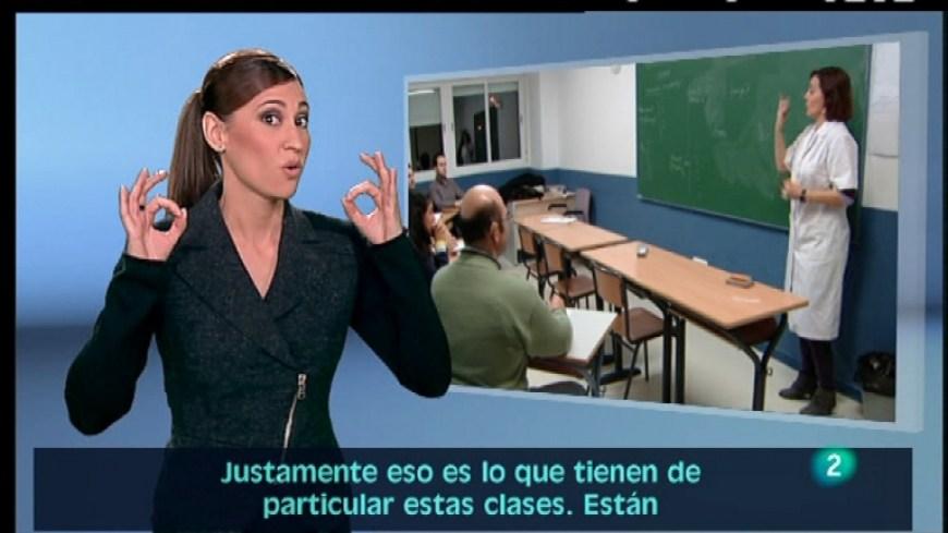 Resultado de imagen para lenguaje de señas en la television