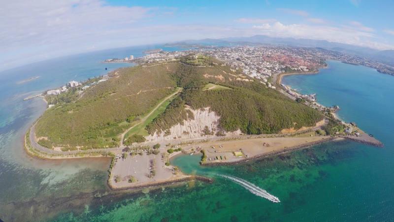 Nueva Caledonia, un archipiélago de Oceanía situado en la Melanesia