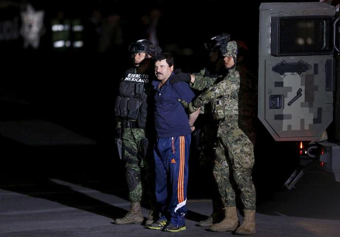 Mexico extradited El Chapa to the U.S. in 2017, where his Sinaloa cartel smuggled tons of cocaine and other drugs.  Photo: Reuters