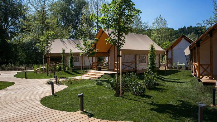 Among glampings, the first place again went to Glamping Olimia Adria village.  Photo: Website / Glamping Olimia