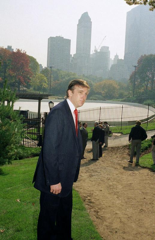 New York, Trump's hometown, has decided not to do business with him anymore.  In addition to the ice rinks (photographed next to the Wollman ice rink in 1986), the mayor also announced the termination of the contract for the management of a golf course in the Bronx and a carousel in Central Park.  Photo: AP