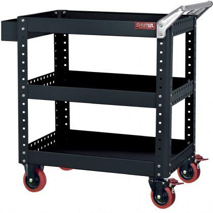 【SHUTER 樹德 工具車 CT-1】作業車 CT-1 標準型 工具車/工具櫃/工業用推車 - 露天拍賣