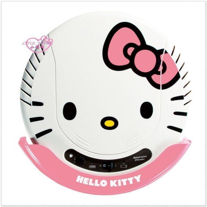 小花花日本精品♥ Hello Kitty 大臉頭造型居家必備掃地機器人掃地機吸塵器 粉色 - 露天拍賣