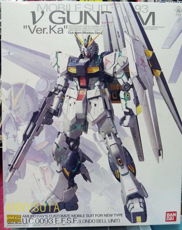 *銀鳳*【鋼彈模型 MG】(補貨中) 逆襲的夏亞 NU鋼彈 Ver.KA RX-93 NU Ver. Ka - 露天拍賣