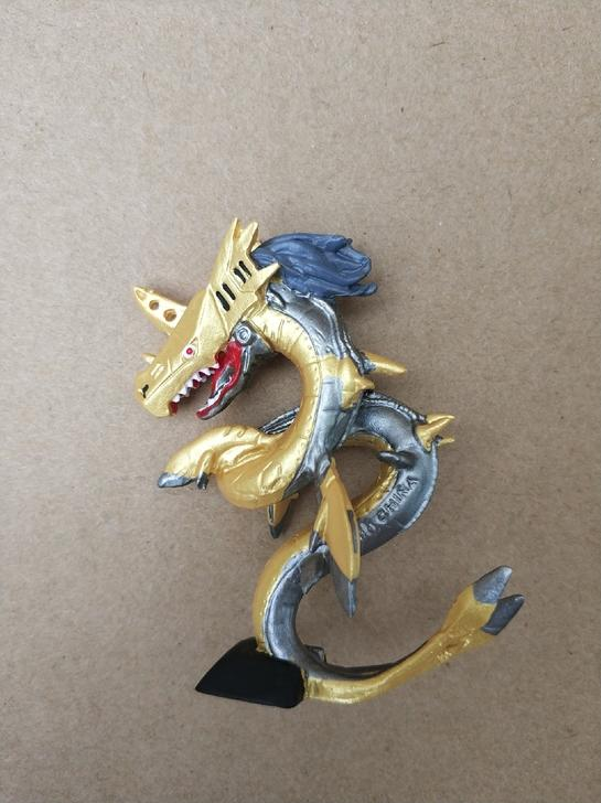 數碼寶貝 鋼鐵海龍獸 黑暗四天王 扭蛋 轉蛋 非奧米加獸 戰鬥暴龍獸 紅蓮騎士獸 - 露天拍賣