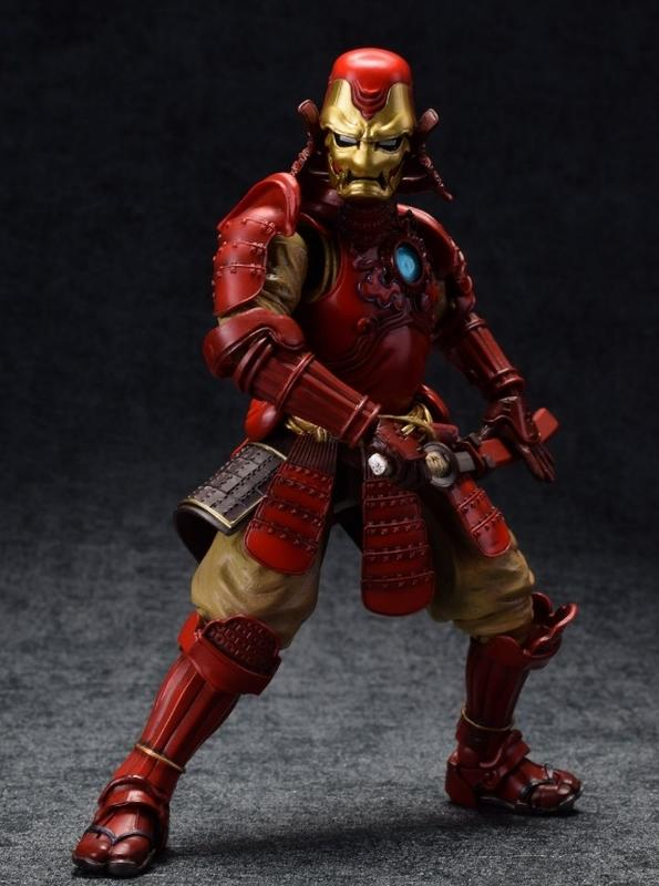【sammi toys】完售 日版 名將MANGA REALIZATION 鋼鐵侍 鋼鐵人 鋼鐵武士 Mark3 - 露天拍賣