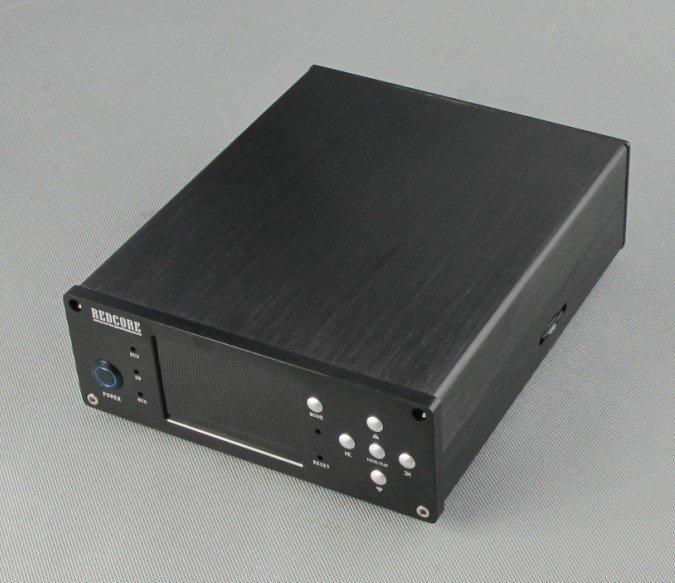 FPGA 母帶數字轉盤播放器 APE FLAC WAV 192K 24bit HIFI / 內置電源版--全鋁機箱 REDCORE無損音樂播放器機箱 - 露天拍賣