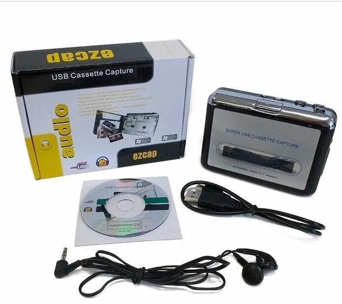 高保真USB磁帶信號轉換器磁帶隨身聽磁帶轉MP3卡帶機隨身聽身歷聲 3435 - 露天拍賣