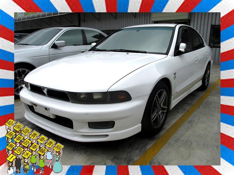 1999 三菱 Galant 2.0 白 手排 6A12引擎 200P馬力 - 露天拍賣