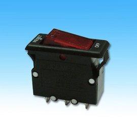 **東順網路** 帶燈無熔絲開關(UL) 過載保護器 過電流斷路器 短腳5.2mm 15A 125VAC (#5140) - 露天拍賣