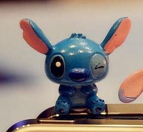【瘋日韓】可愛卡通史迪奇 3.5mm 通用耳機塞 防塵塞 四款任選 - 露天拍賣
