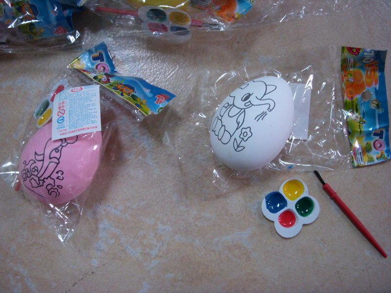 小猴子玩具鋪~好寶寶獎勵品~DIY創意彩繪蛋/仿真雞蛋益智水彩彩蛋-不挑款~~特價:10元/個 - 露天拍賣