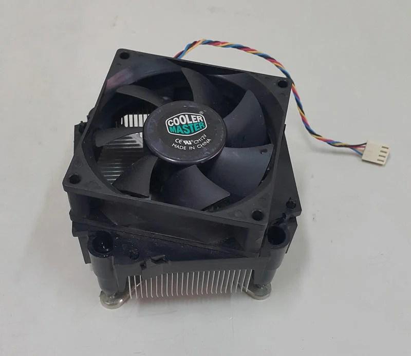 中古良品 二手 CoolerMaster Intel CPU散熱器 銅底 散熱風扇 775 - 露天拍賣