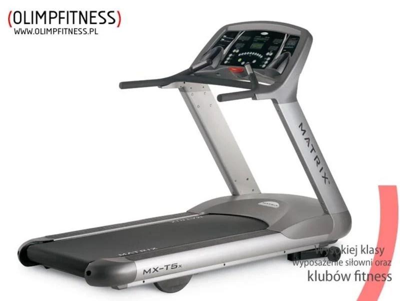Johnson喬山頂級營業用高級跑步機Matrix MX-T5x要出清! - 露天拍賣