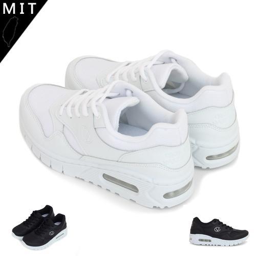 女款 全白側邊縫線 慢跑鞋 運動鞋 休閒鞋 學生鞋 氣墊鞋 小白鞋 KM - 露天拍賣