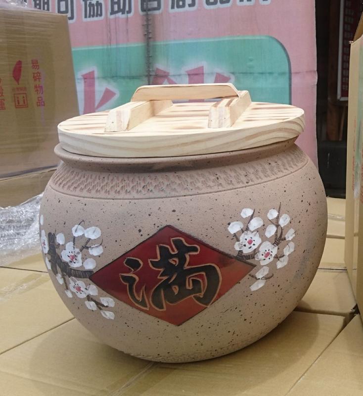 米甕 米缸 米桶 米箱(20斤) 老茶 普洱茶 聚寶 甕 開幕 春節 結婚 新居 禮品 禮物 - 露天拍賣
