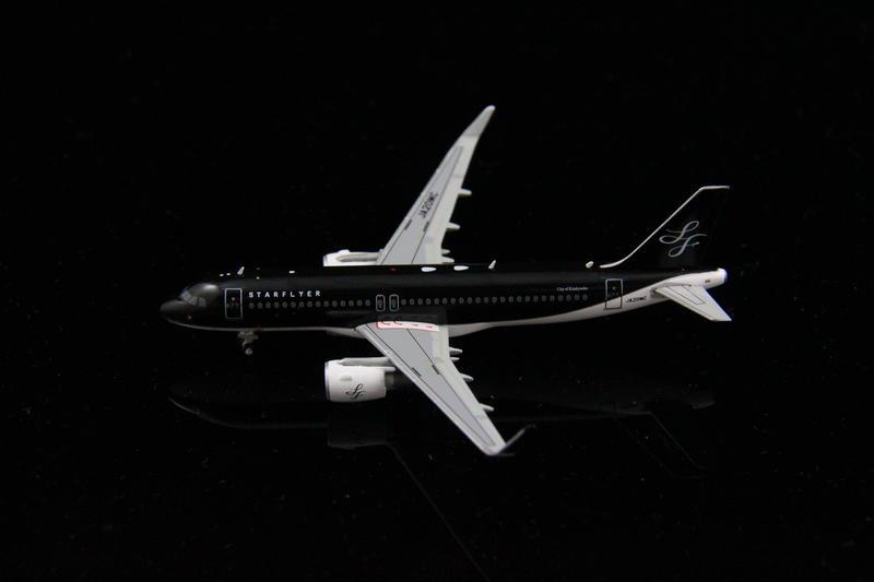 希望之翼 (日本限定款) 星悅航空 StarFlyer A320-200 JA20MC GeminiJets 1/400 - 露天拍賣