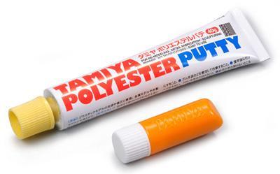 速硬化雙劑補土 約一小時硬化 TAMIYA田宮 保麗補土 40g (二劑型) #87097 - 露天拍賣