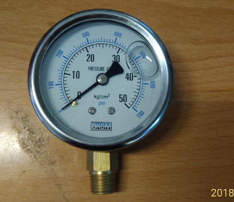 油壓錶 液壓表 油壓表 空壓機 充油式 耐震表 15KG 35KG 50KG 70KG 100KG PSI MPA   露天拍賣