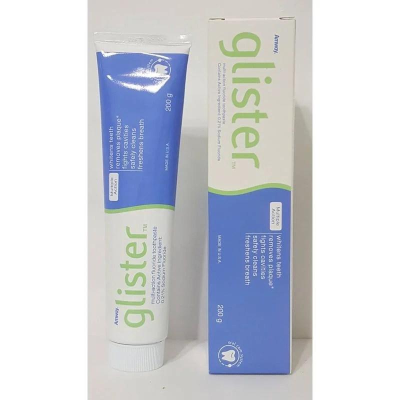 現貨不用等 德國製 安麗氟潔牙膏 glister牙膏200g - 露天拍賣